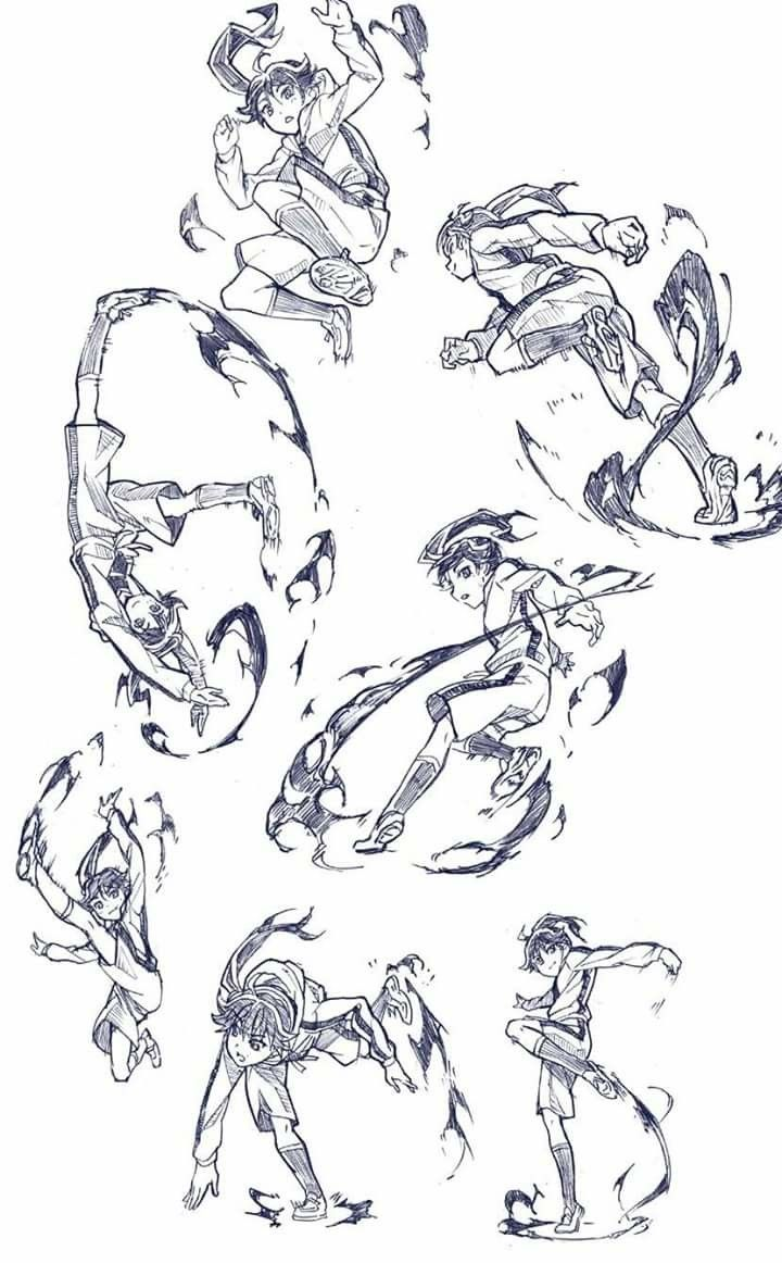 Pin By Itsna Az Zahra On Art Art Reference Poses Fighting Drawing Anime Poses Reference