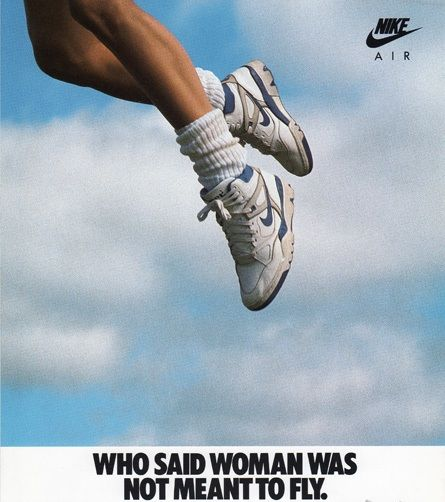 """Nike Women's Air Force III """"WHO SAID WOMAN WAS NOT MEANT TO"""