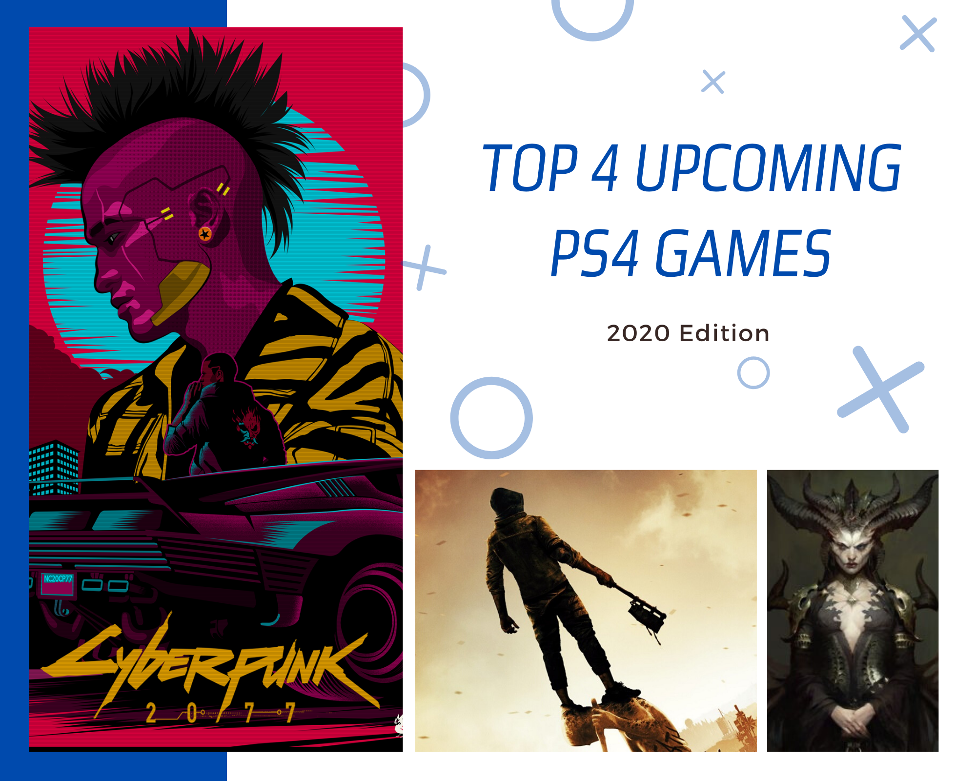 Top 4 PS4 Games 2020 Edition in 2020 Ps4 games