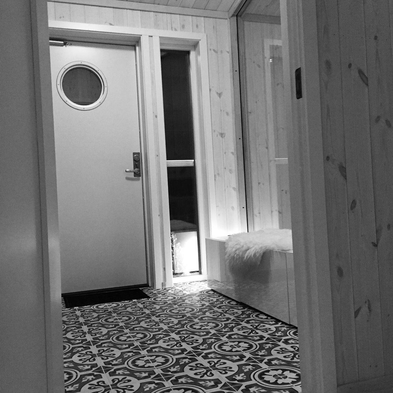Fliser P? Hytta : Historiske fliser bad bathroom