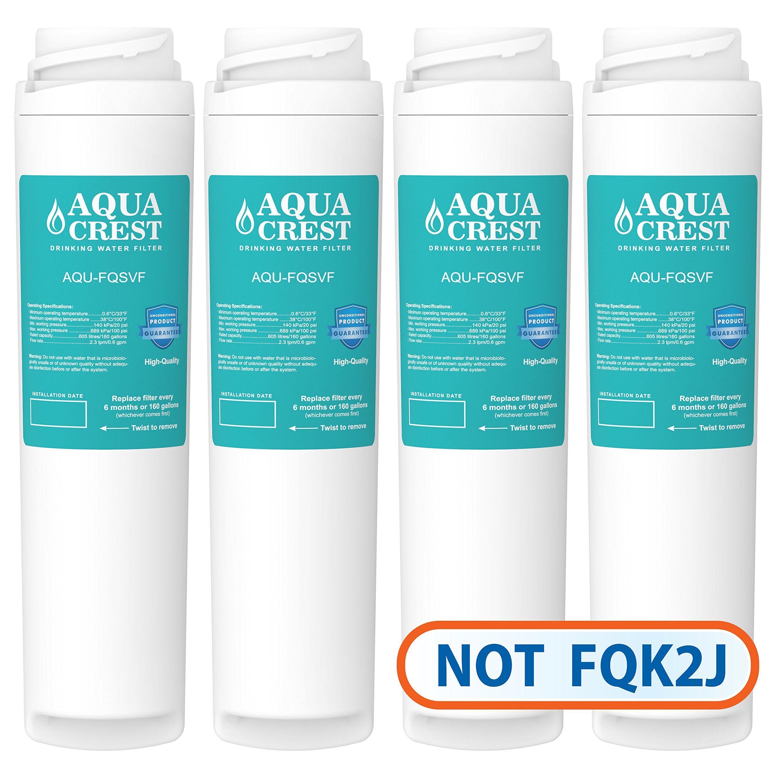 aquacrest fqsvf replacement for ge fqsvf gxsv65r water filter set 2