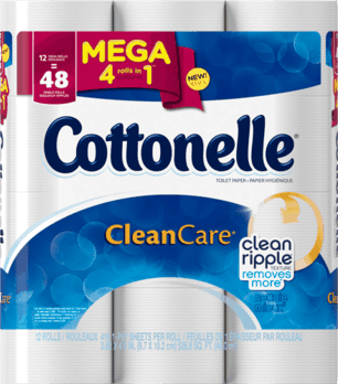 Cottonelle® CleanCare* Mega Roll (With images) Cleaning
