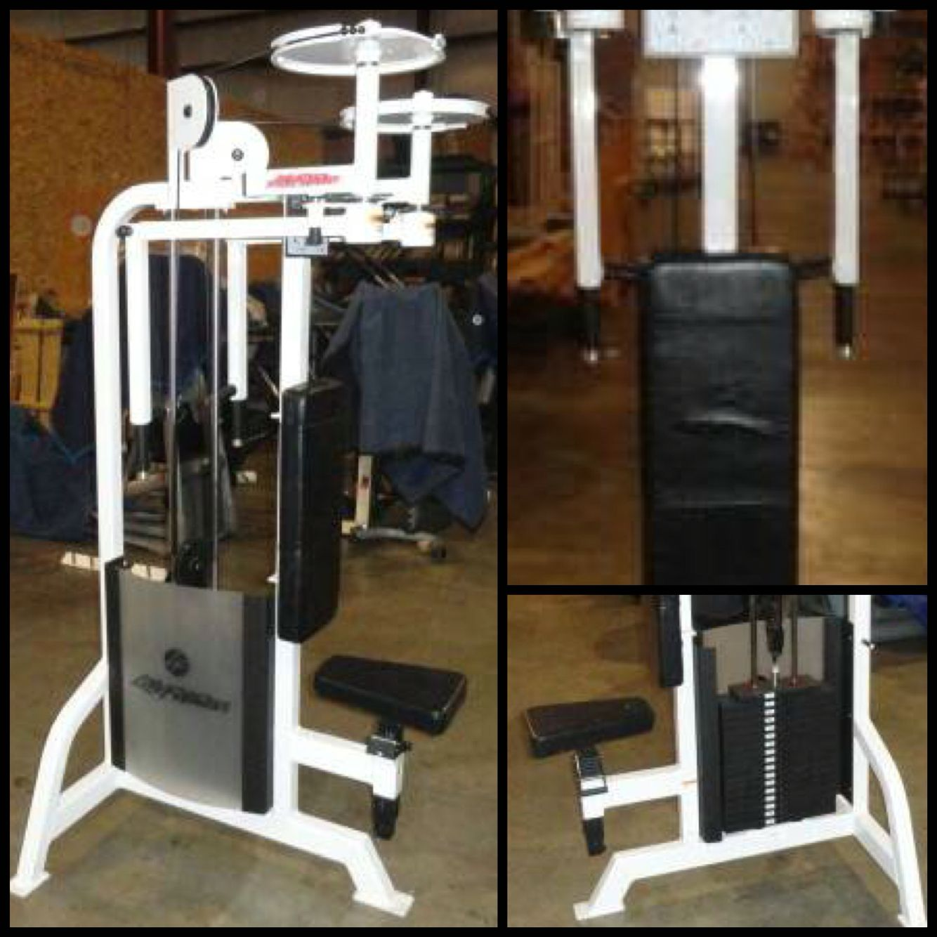 Life Fitness Pro Pec Deck Rear Delt 1500 Check Out All Of Our Inventory Midwestusedfitnessequ Used Fitness Equipment Used Gym Equipment No Equipment Workout