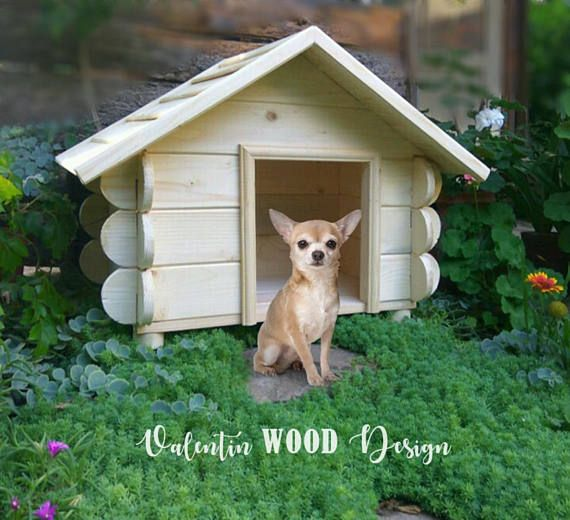 Beautiful Dog House A Great Gift For Your Small Or Medium Sized Pet Handmade From Wood Pine In Our Home Workshop Not I Dog House Dog Houses Pet Home