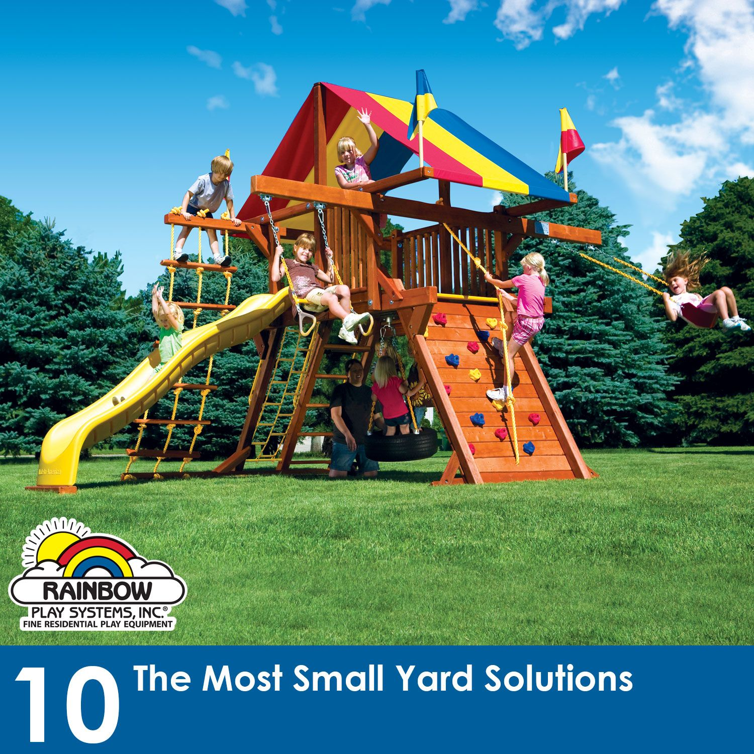 Rainbow Play Systems, Best Swing Sets