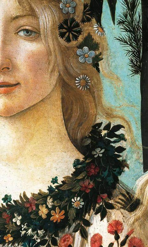 2018 年の detalle de la primavera de sandro botticelli