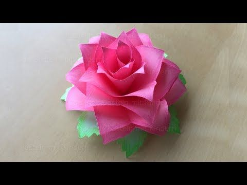 How to make a Vintage style toilet paper flower - YouTube | 360x480