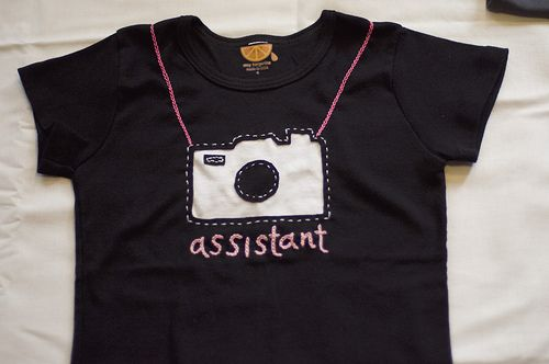 """""""assistant"""" tee"""