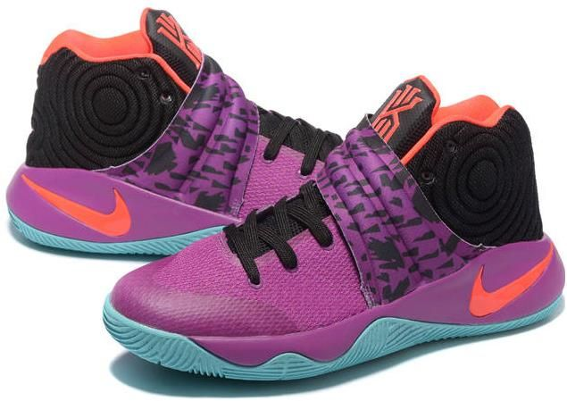 Nike Kyrie 2 Medium Berry Hot Lava Black0  0fbfdb644d7e