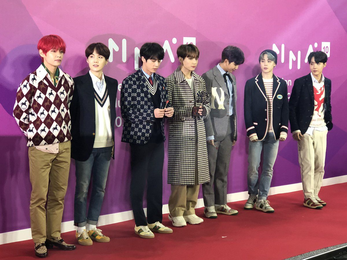 Melon Music Awards 120118 Korean Music Awards Bts Boys Mma