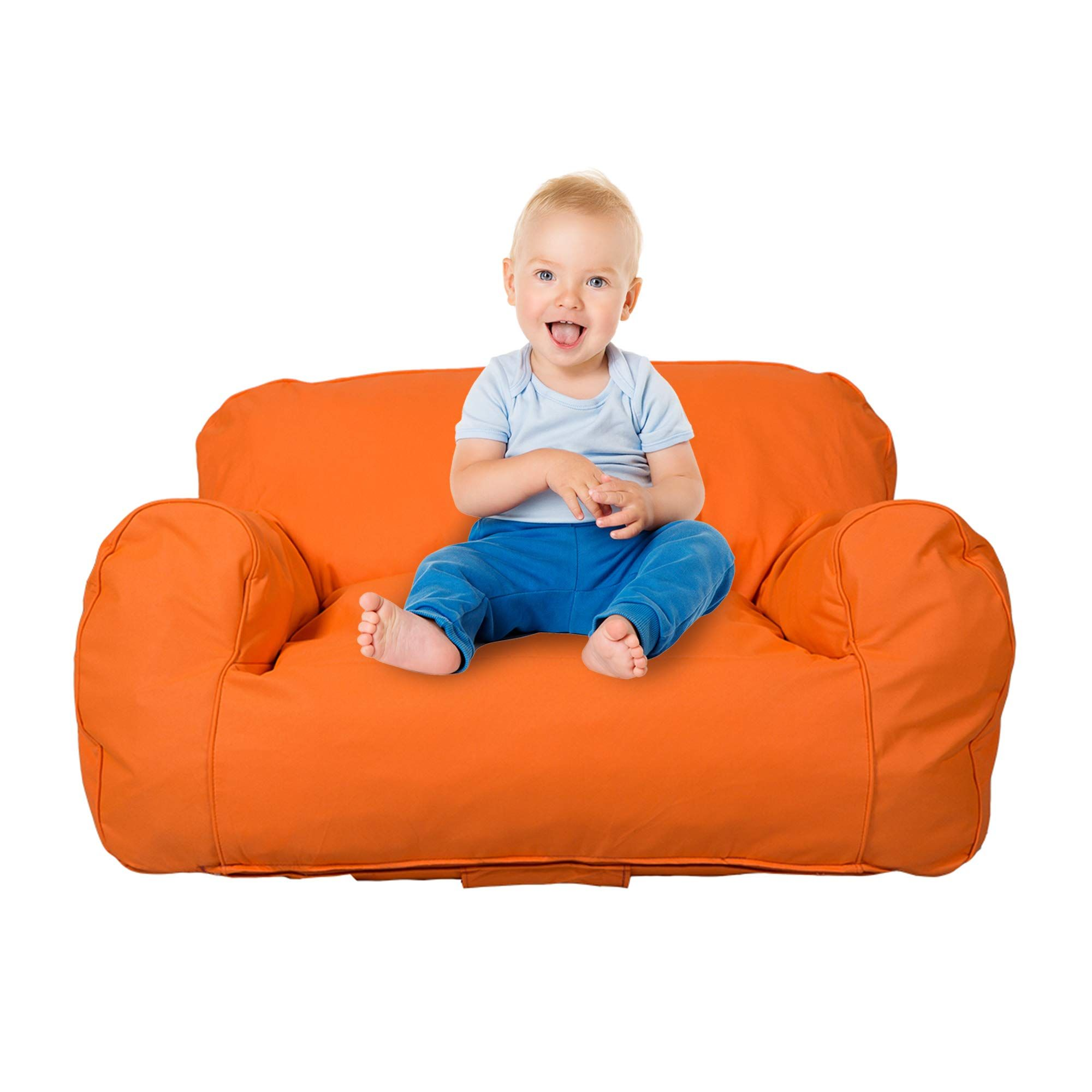 Livebest Soft Selfrebound Sponge Double Kids Lounger Sofa Bean Bag Chair Seat Available For Boys And Girls Ora Bean Bag Chair Bean Bag Chair Kids Bean Bag Sofa