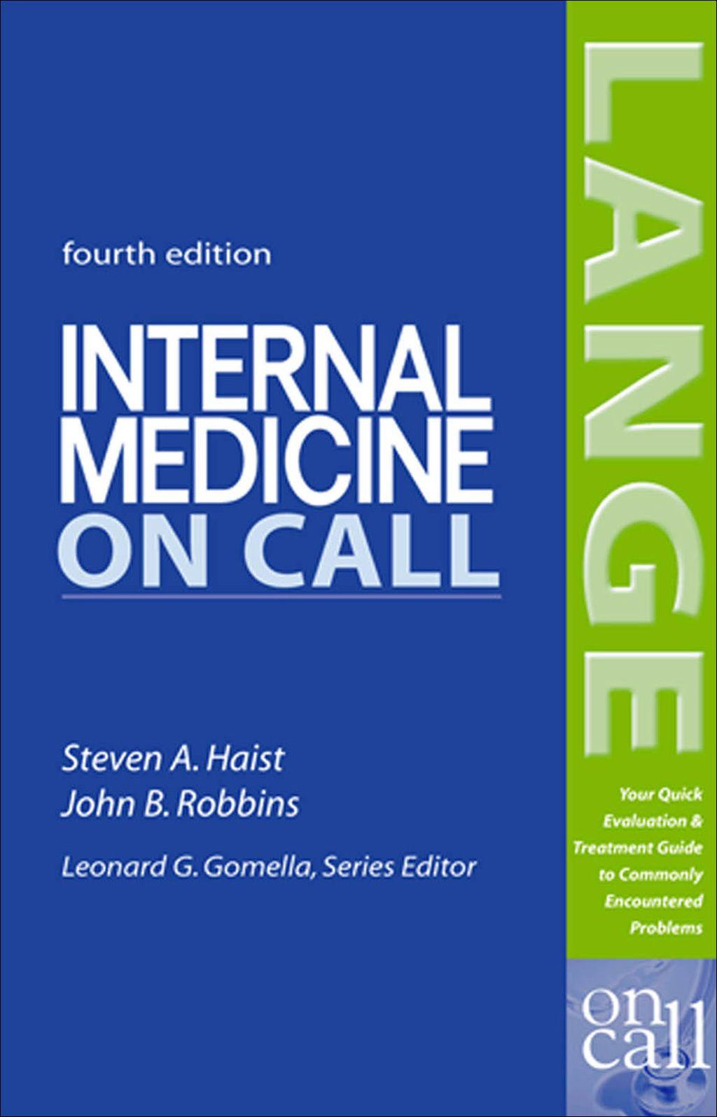 Internal medicine on call ebook