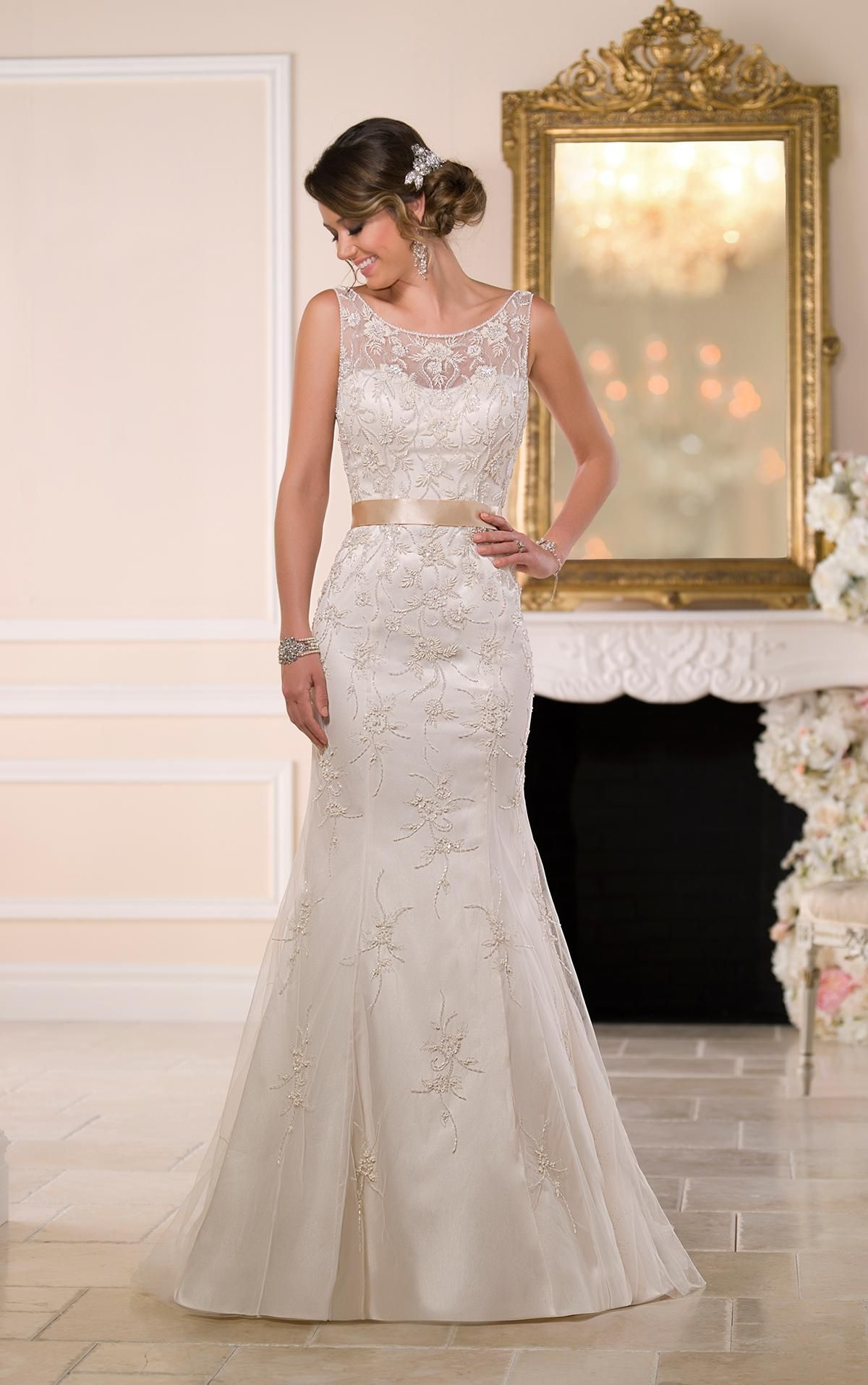 Wedding Dress For Petite Bride 2016 Romantic Wedding Dresses By ...