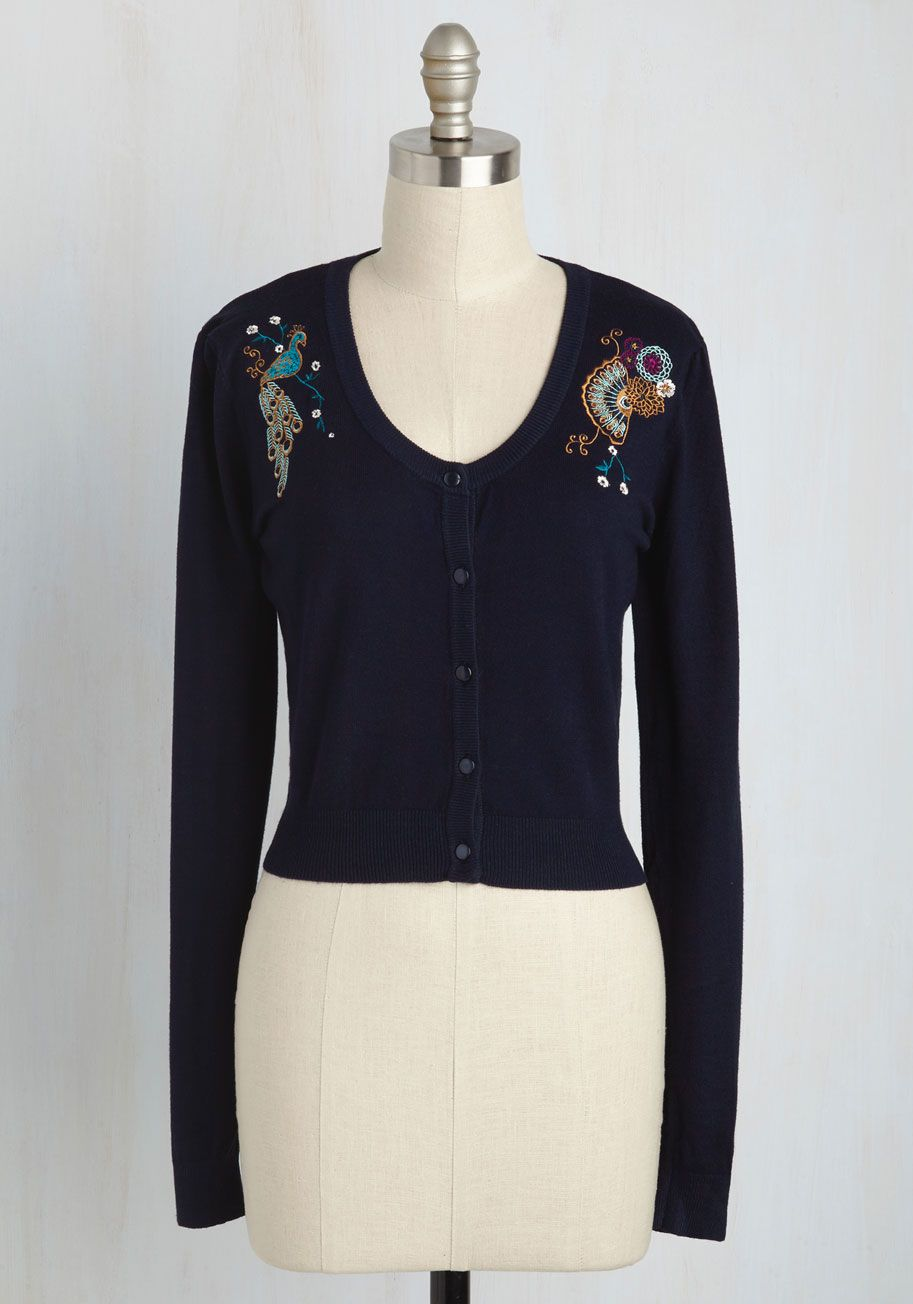 d383ea5a891 Stylish Sentiments Floral Cardigan. In the rare moments youre not sporting  this navy cardigan