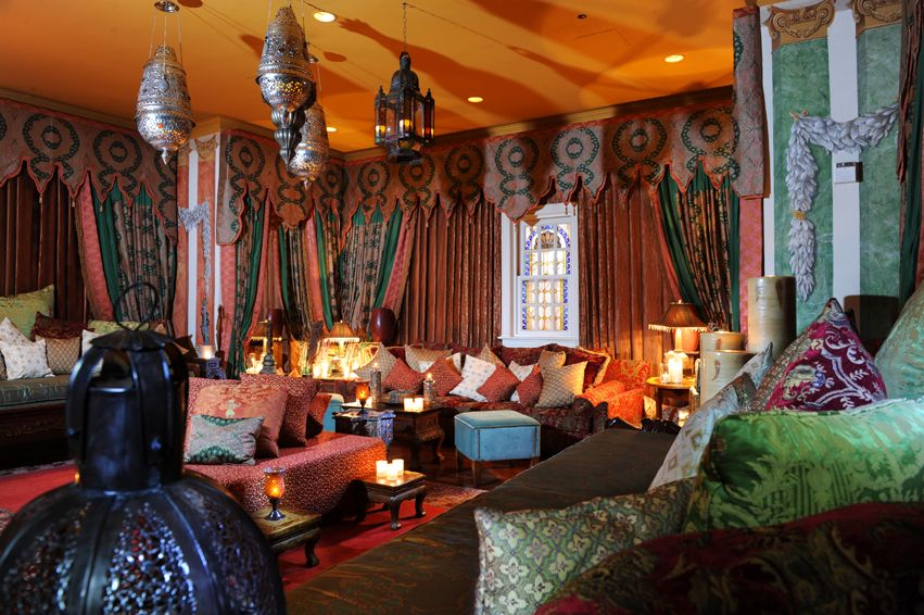 country home designs: amazing moroccan room design living room