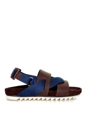 d45072b8e Saw-sole sling-back sandals
