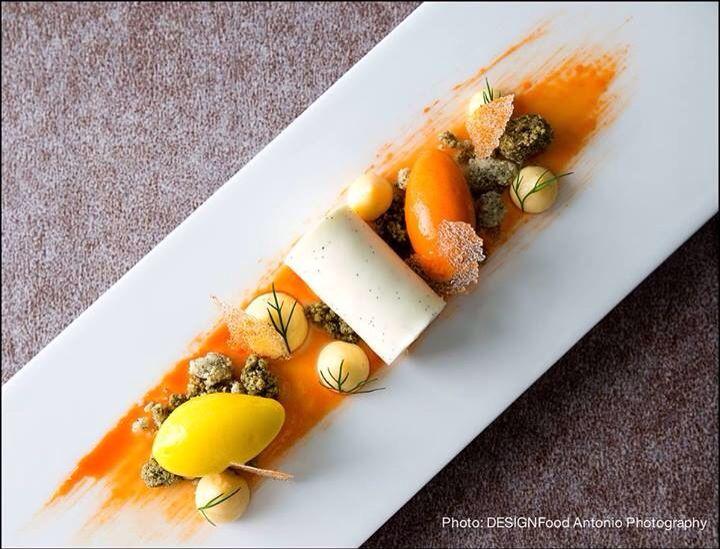 Chef Antonio Fekete... L'art de dresser et présenter une assiette comme un chef de la gastronomie... http://visionsgourmandes.com