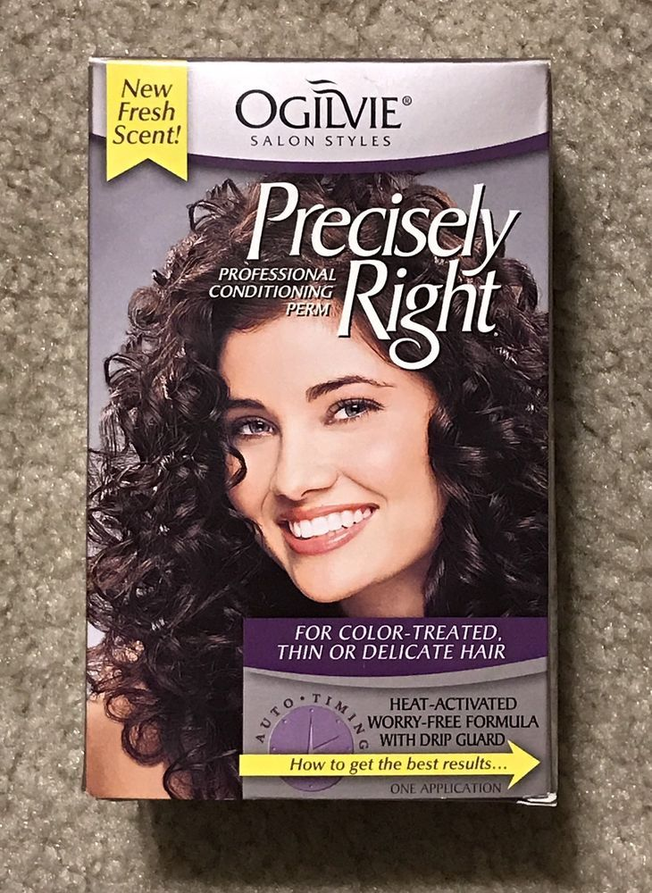 1 Ogilvie Precisely Right Conditioning Perm Color Treated Or Delicate Hair New