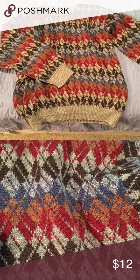 """Hipster """"Bill Cosby"""" Sweater Hipster """"Bill Cosby"""" Sweater. It is a unisex sweater. It was bought without tags but it fits big on me (I wear a men's size Medium-Large). It's a perfect oversized sweater for the upcoming cold months! Like new condition. MAKE ME AN OFFER! Sweaters Crew & Scoop Necks"""