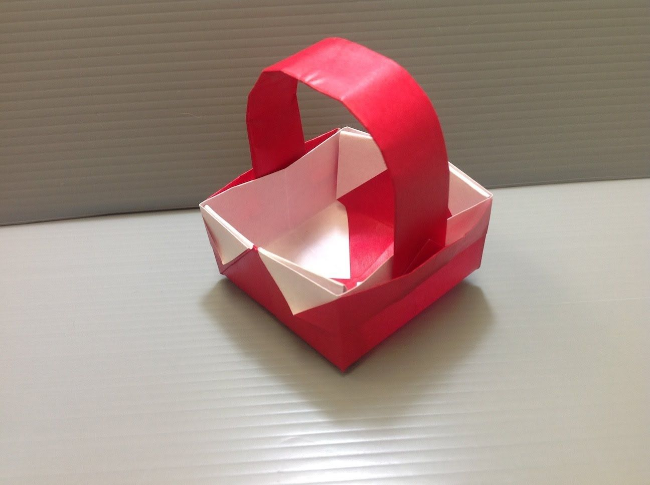 Daily Origami 046 Basket Origami Origami Videos Origami Instructions