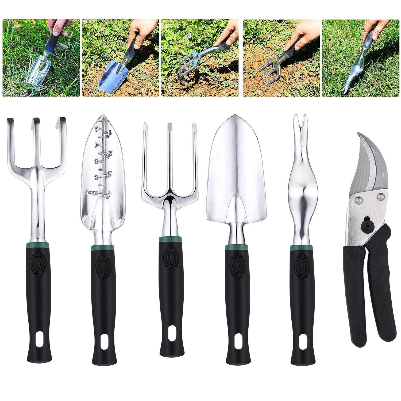 Meditool 11 Piece Gardening Tool Set Gardening Tools With Tool Bag