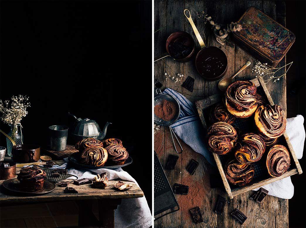 Receta Brioche de Chocolate