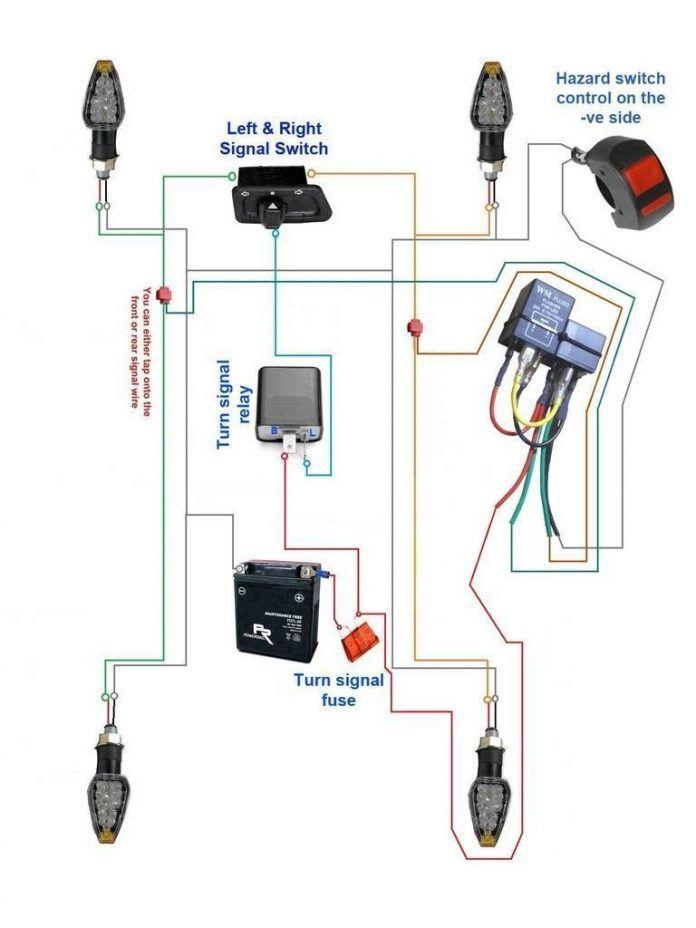 15 Great Ideas Of Wiring Diagram Of Motorcycle Design Bacamajalah Motorcycle Wiring Hazard Lights Motorcycle Design