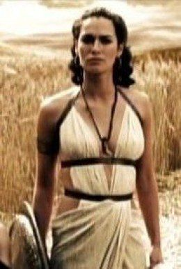 Movie 300 Queen Gorgo Spartan Goddess Roman Adult Womens Costume Halloween