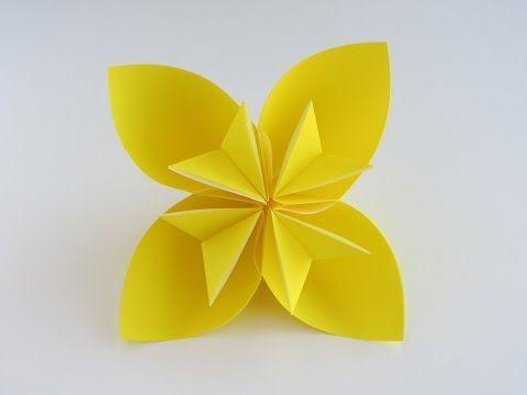 Easy Origami Kusudama Flower And Other Origami Figures Folding