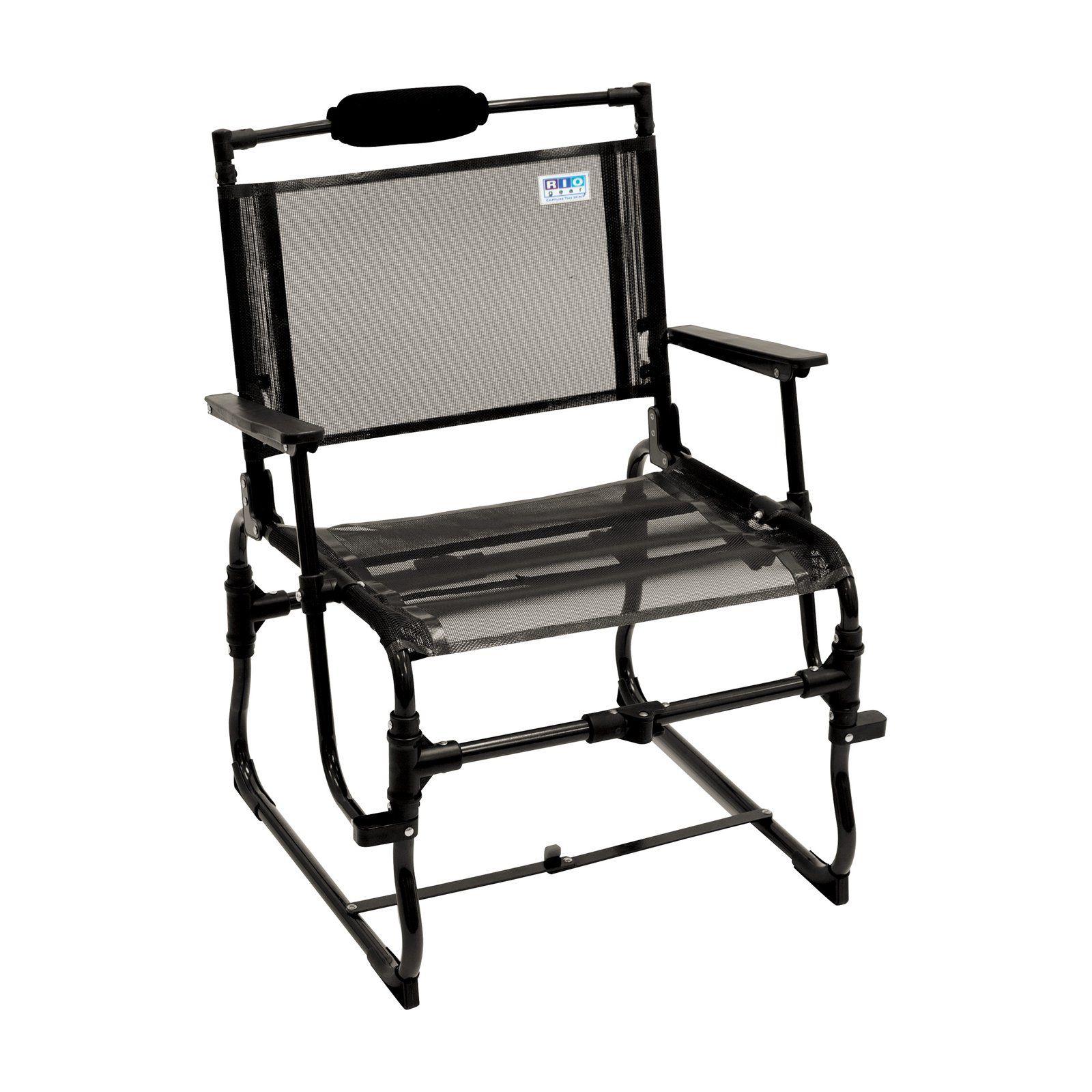 Outdoor Rio Gear Compact Traveler Folding Chair Large Folding
