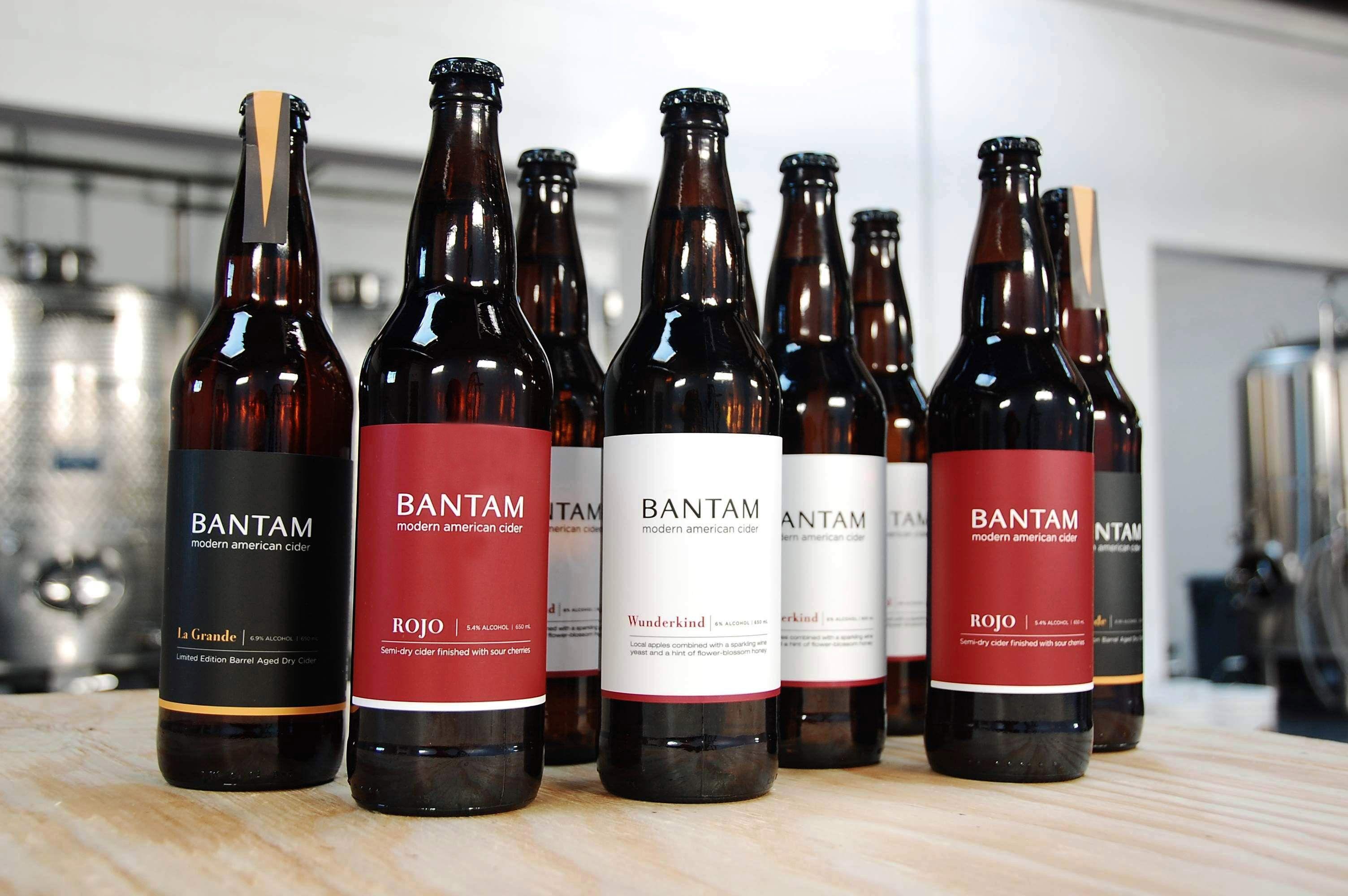 Bantam Group Bottles Jpg 3008 2000 Cider Alcohol Bar Tap Room