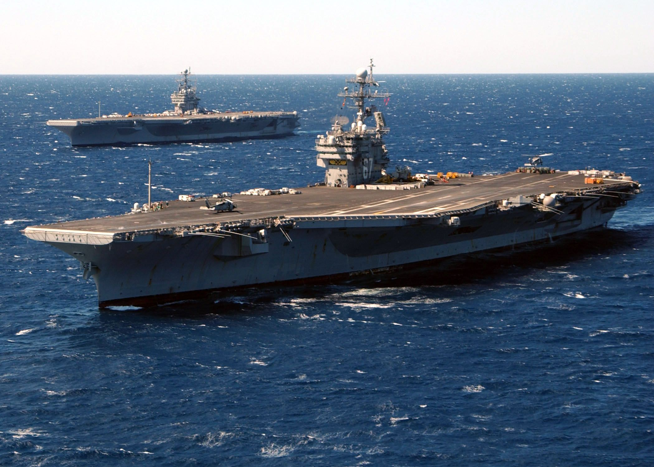 Cvn 67   ... :USS John F. Kennedy (CV-67) with USS ...