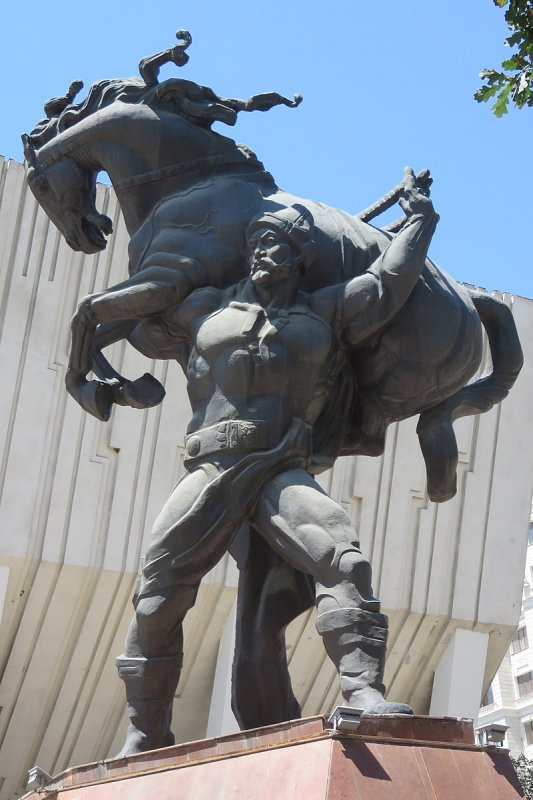 Real Giant Kojomkul Who Became A Folk Hero In Kyrgyzstan Ancient Pages Ancient Folk Historical Facts