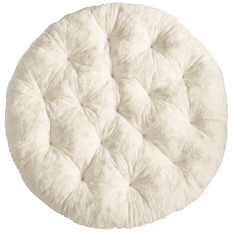Fuzzy Sand Papasan Cushion Bedroom Papasan Cushion Cushions Chair