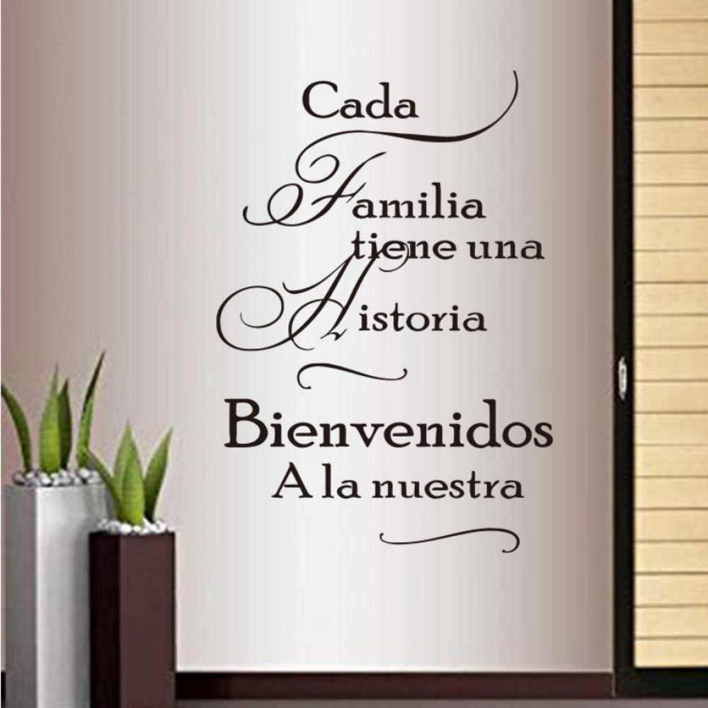 Frases Familiares Vinilo Pegatinas De Pared Para Decoracion Del