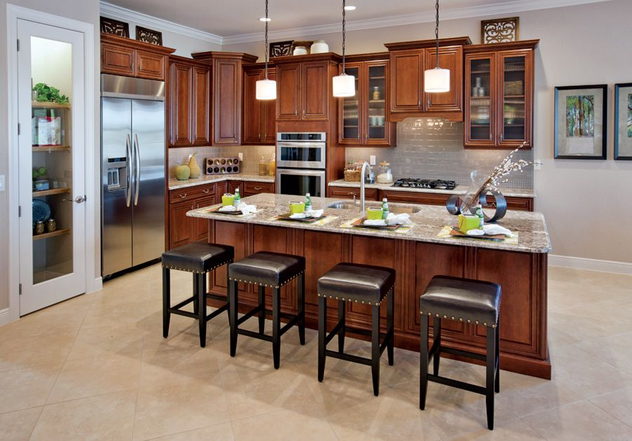 Cordova At Spanish Wells New Home Communities Distressed Kitchen Home