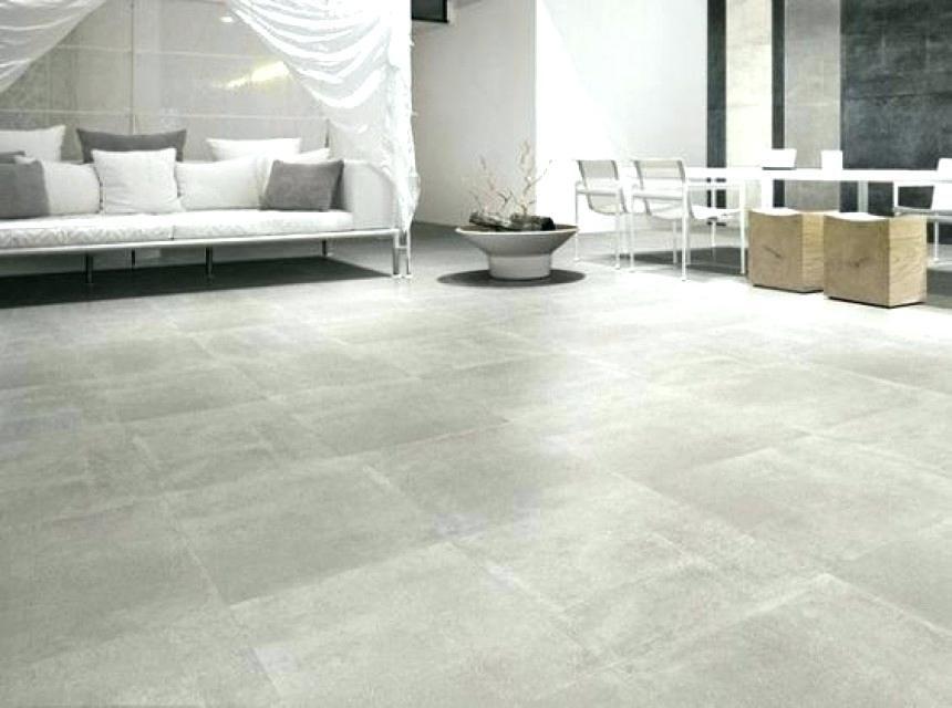 Carrelage Gris Clair Effet Beton Flooring Decor Home