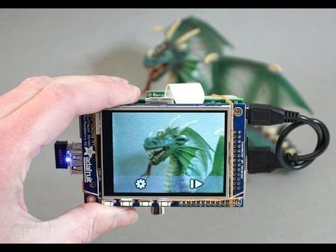 Build A Raspberry Pi-Powered Touchscreen Point-And-Shoot Camera