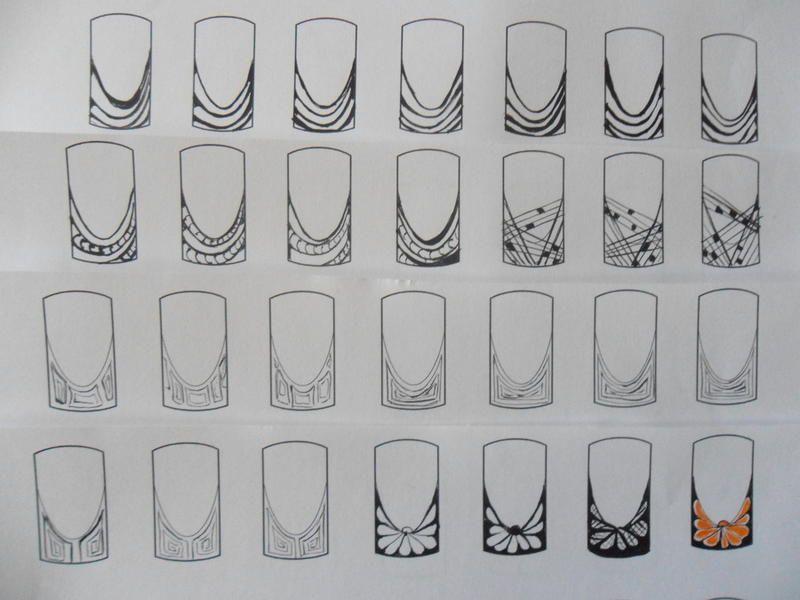 117 Tendencias De Doodle Para Explorar Arte De Uñas