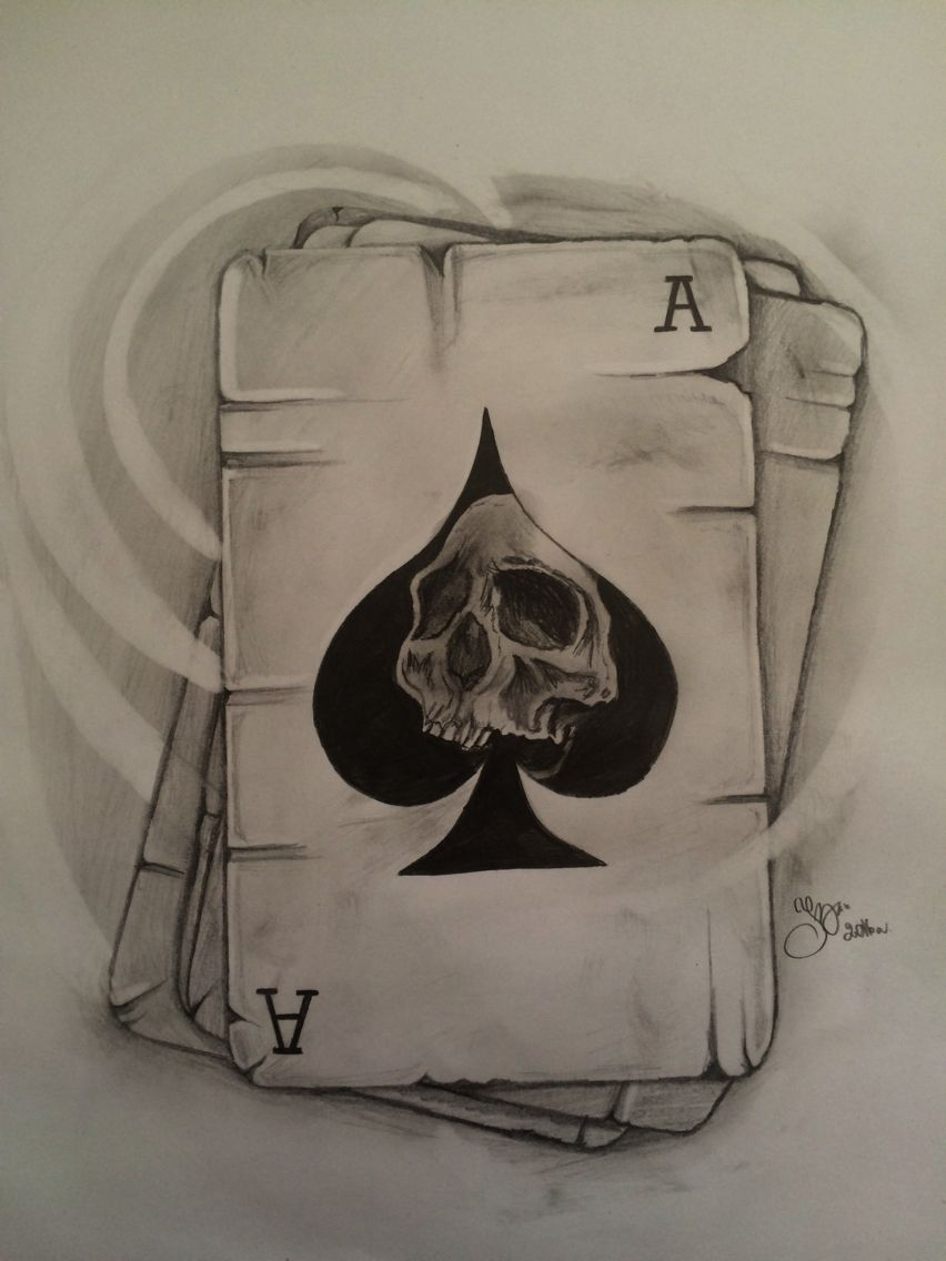 Playing Card Tattoo Designs