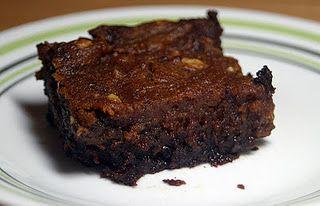 Pumpkin Brownies {Vegan} from @VeggieConverter
