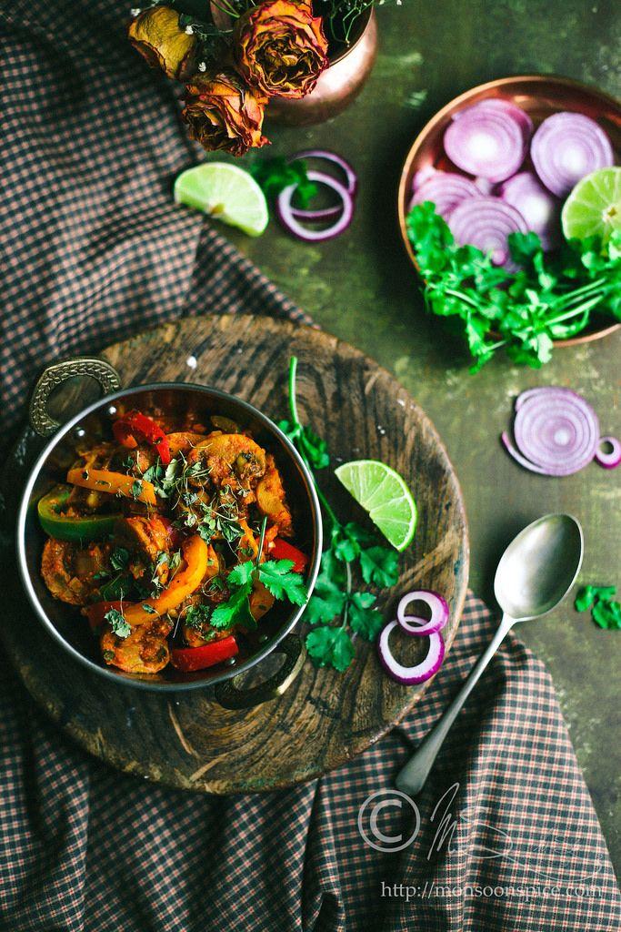 Kadai mushroom karahi mushroom recipe mushroom recipes indian food recipes forumfinder Gallery