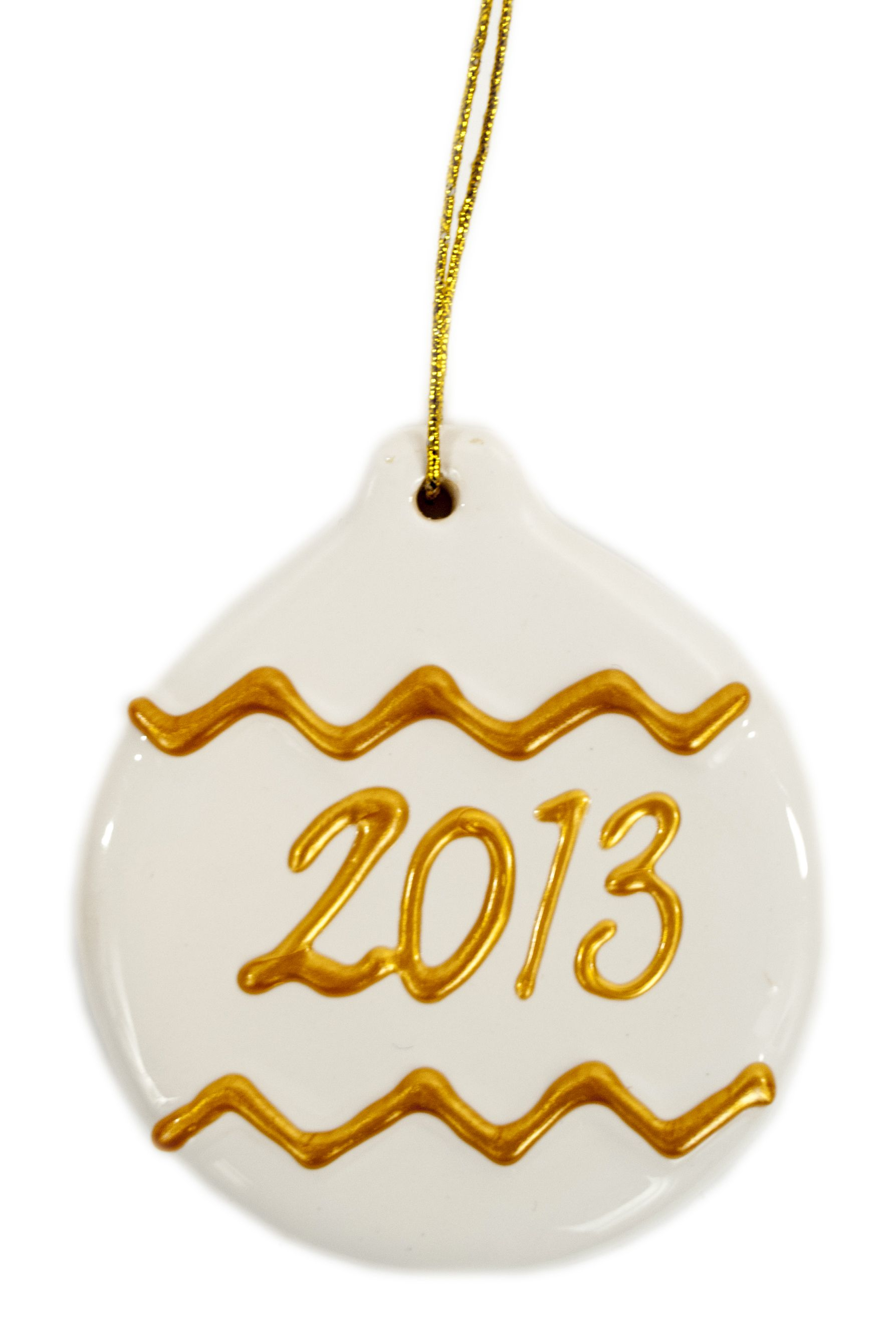 Viva Décor Gold and Ivory Ornament ornaments craft