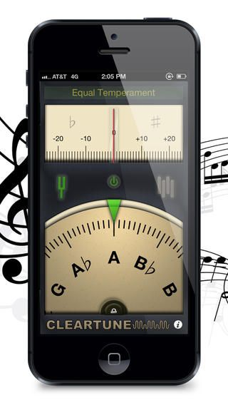 Cleartune Chromatic Tuner Ios apps, Iphone games