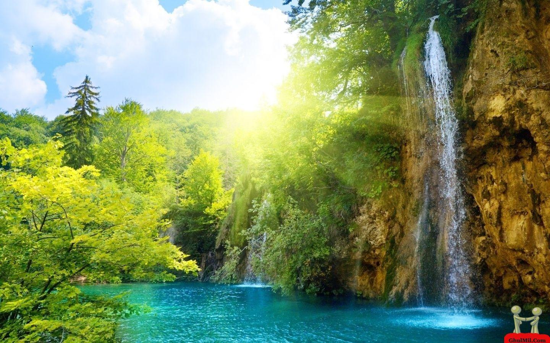 Beautiful Waterfalls Awesome Beautiful Waterfalls Desktops Laptops Computers Hd Background Relaxing Music Meditation Music Beautiful Waterfalls