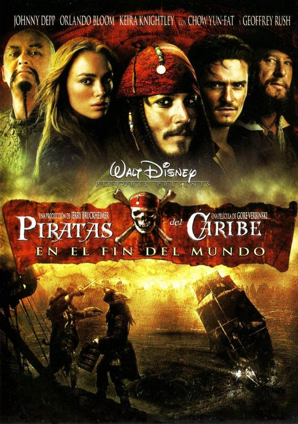 Ver Piratas Del Caribe En El Fin Del Mundo Online Gratis 2007 Hd Película Completa Español Pirates Of The Caribbean Walt Disney Movies Pirate Movies