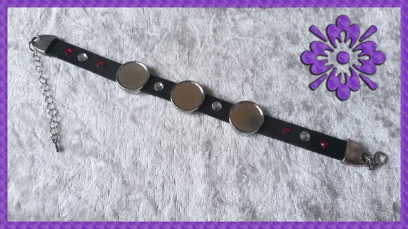 Armbänder - Armband für 3 Fotos - ein Designerstück von Nickis-Schmuckstube bei DaWanda