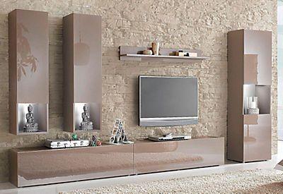 Tecnos Wohnwand Set 6 Tlg Auf Rechnung Bestellen Home Room Design