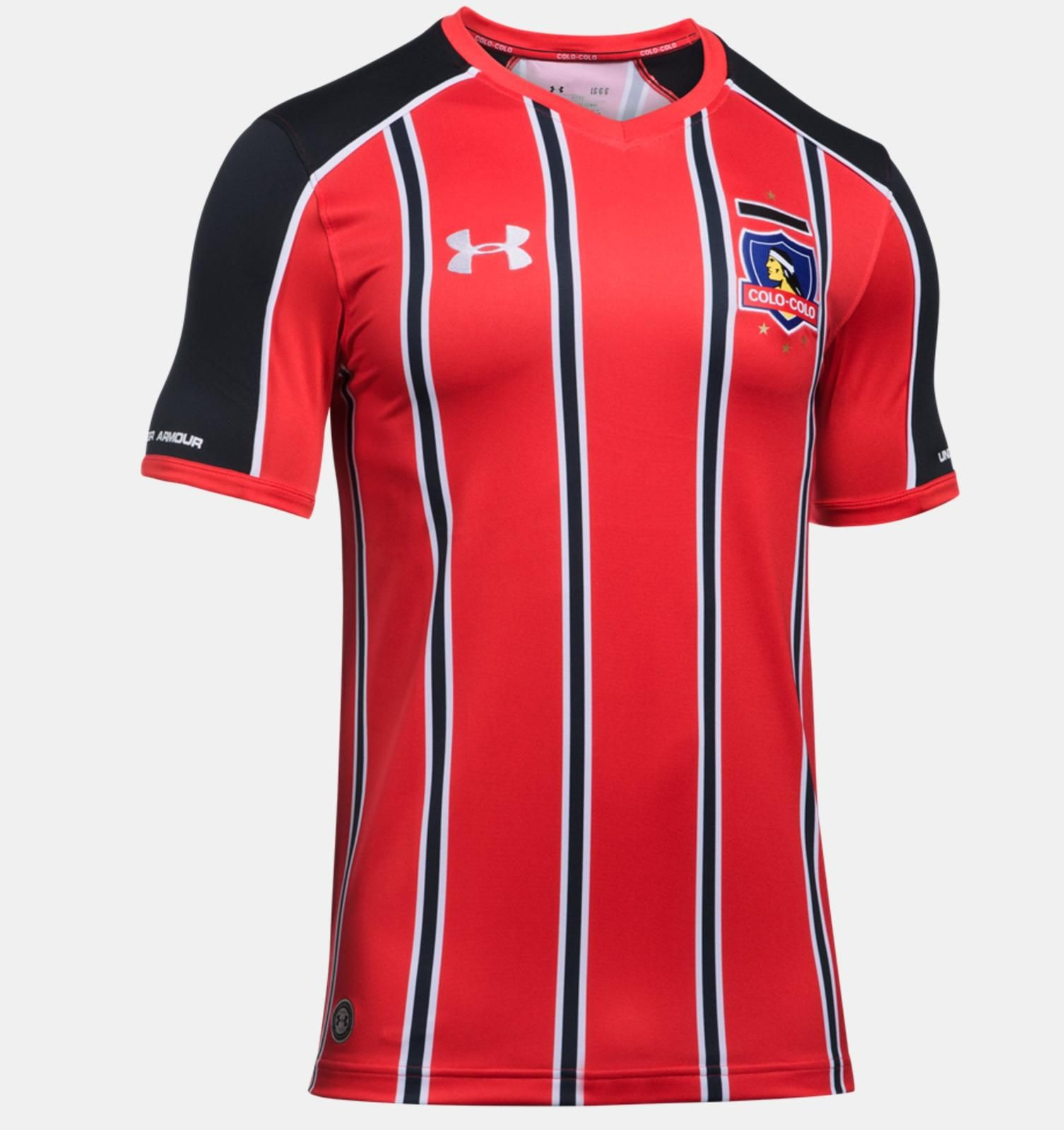 5029c4f3b The Colo-Colo 2017 third kit introduces a vibrant design in red ...