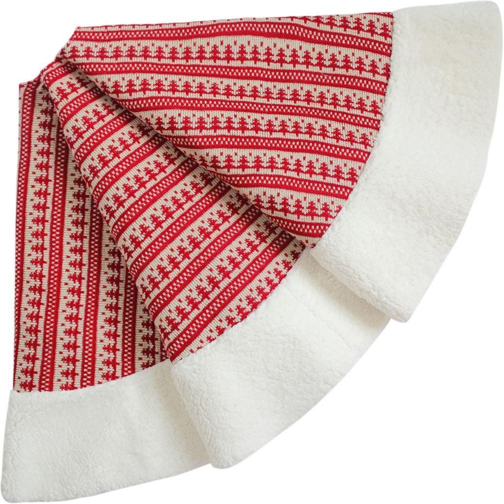 SORRENTO Nordic Chunky Knitted Centre,Sherpa Border High